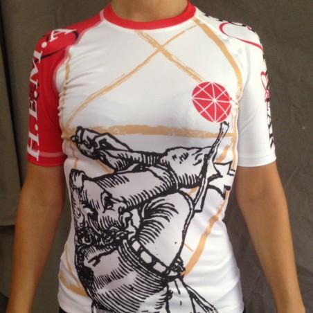 T-shirt technique. Épée femme Manches courtes