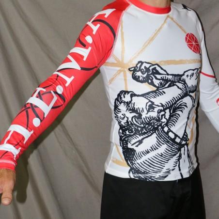 T-shirt technique. Épée homme taille L