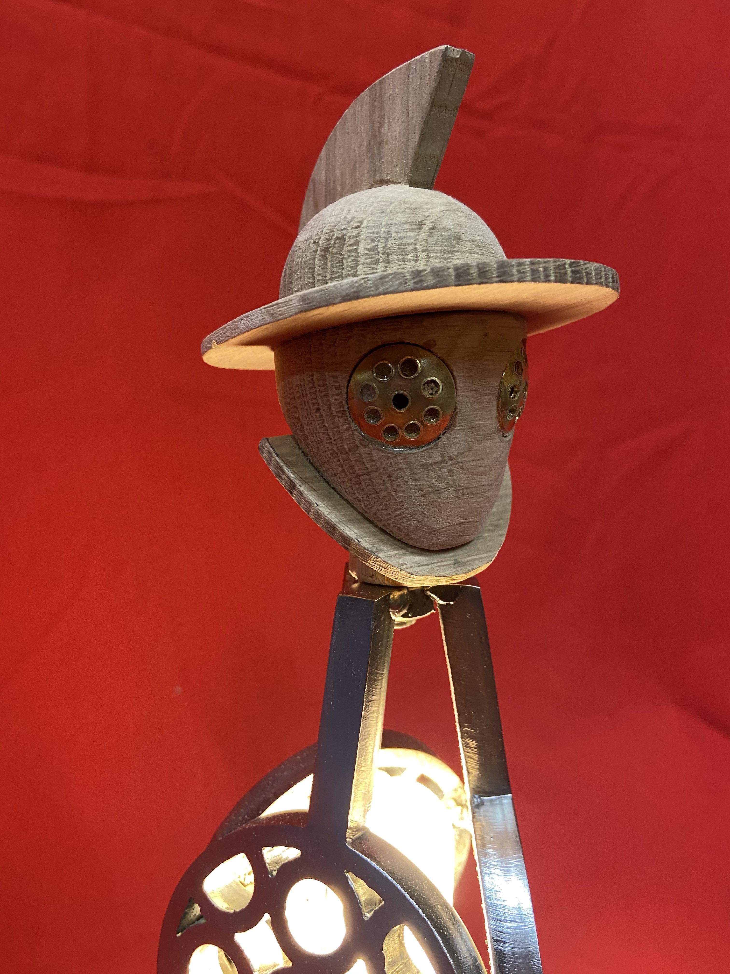 Lampe Gladiateur Hoplom'Art