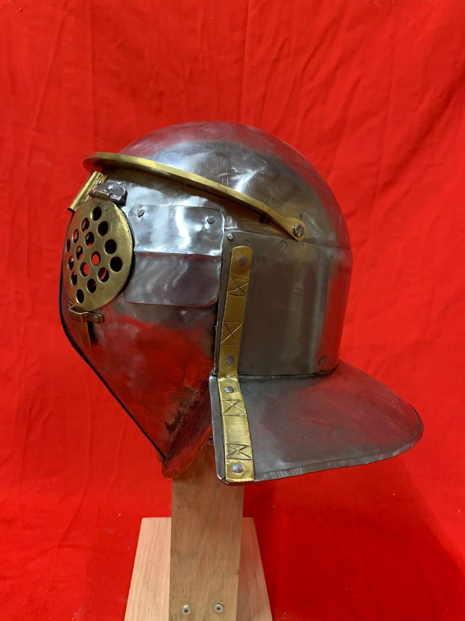Casque gladiateur Provocator