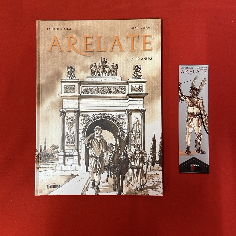 """ARELATE TOME 7 + """"MARQUE TA PAGE"""""""