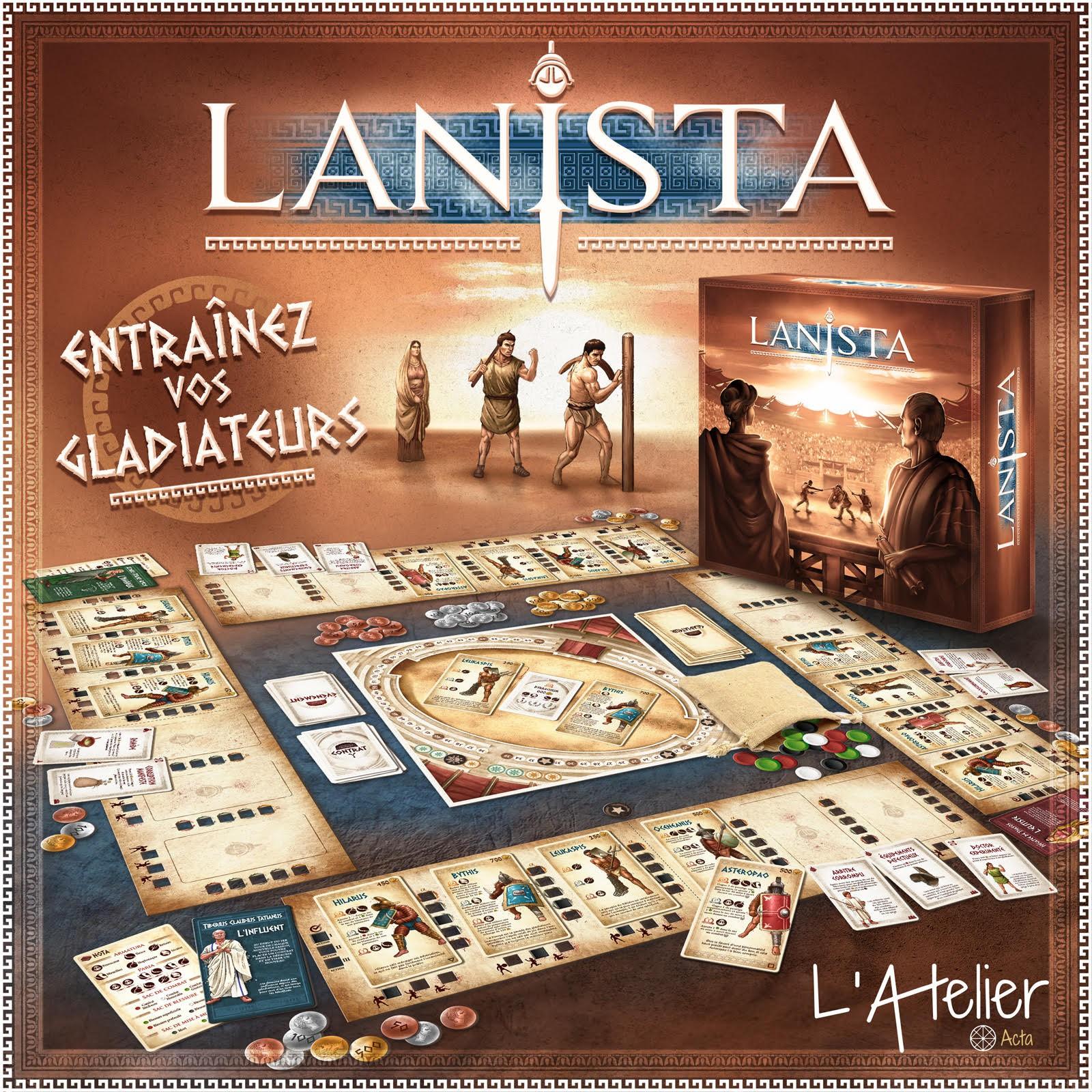 LANISTA : entraînez vos gladiateurs !