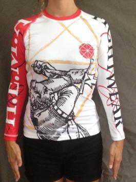 T-shirt technique. Épée Femme taille XL